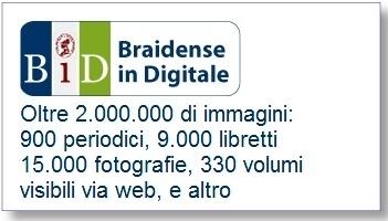 Catalogo e immagini dei libretti digitalizzati della Braidense