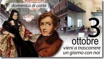 Domenica 3 ottobre visite in Biblioteca e Mediateca