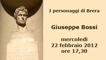 Conferenza: Giuseppe Bossi