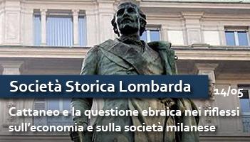 Carlo Cattaneo e la questione ebraica  nei riflessi sull'economia e sulla società milanese