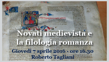 Gioved� 7 aprile 2016 - ore 16.30