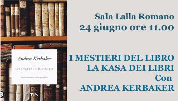 I mestieri del libro: la Kasa dei libri con Andrea Kerbaker
