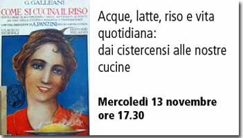 Mercoled� 13 novembre ore 17.30