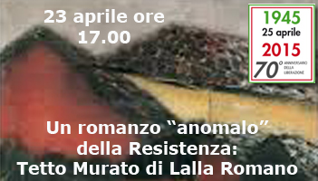 Gioved� 23 aprile ore 17.00