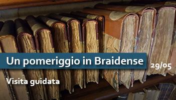 Visita guidata: Un pomeriggio in Braidense