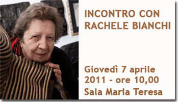 Incontro con Rachele Bianchi